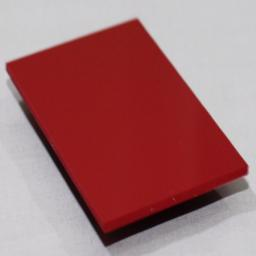 2.5mm Gloss Red PVC Sheet 2.44m x 1.22m