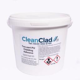 2.0mm Hygienic Wall Cladding CleanClad White 2.4m x 1.2m