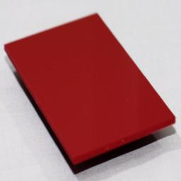 2.5mm Gloss Red PVC Sheet 3.05m x 1.22m