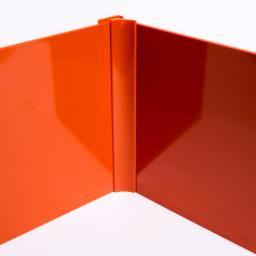 Orange Gloss Wall Cladding Internal Corner Joint