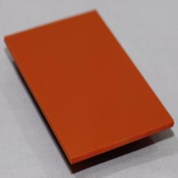 2.5mm Gloss Orange PVC Sheet 3.05m x 1.22m