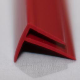 Red Gloss Wall Cladding External Corner Joint