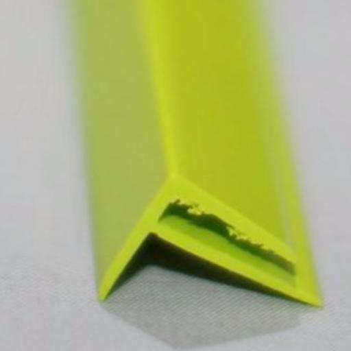 Lime Green Gloss Wall Cladding External Corner Joint