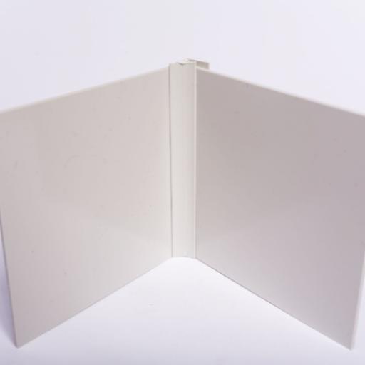 Pastel Cream Wall Cladding Internal Corner Joint