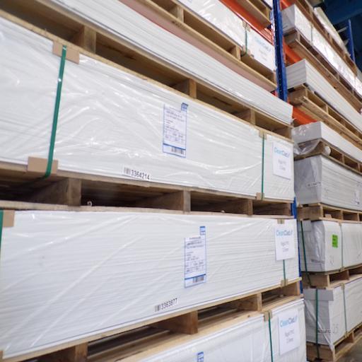 2.0mm Hygienic Wall Cladding CleanClad White 2.4m x 1.2m