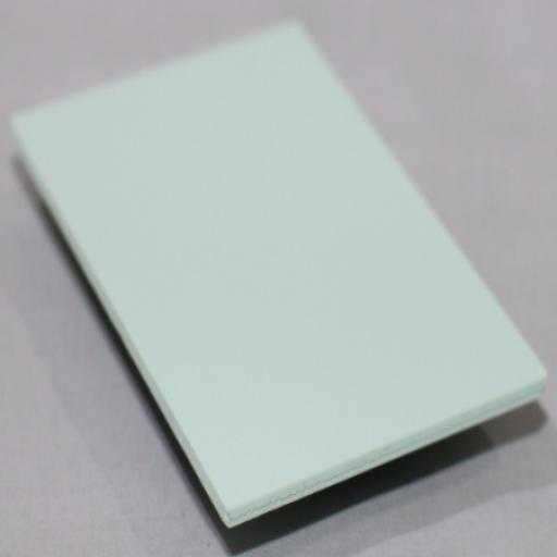 2.5mm Pastel Green PVC Sheet 2.44m x 1.22m