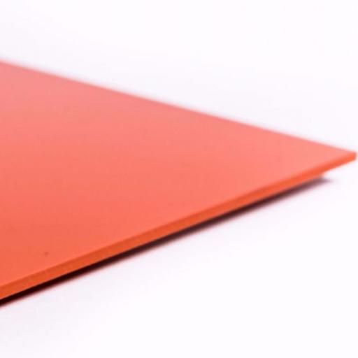 2.5mm Hygienic Wall Cladding Orange Gloss 3.05m x 1.2m