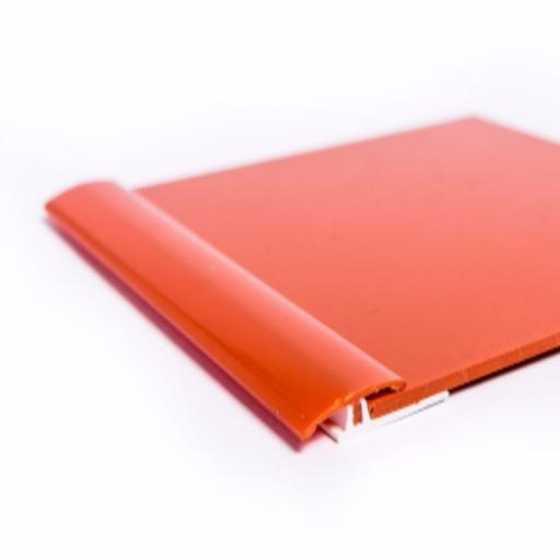 Orange Gloss Wall Cladding Transition Strip