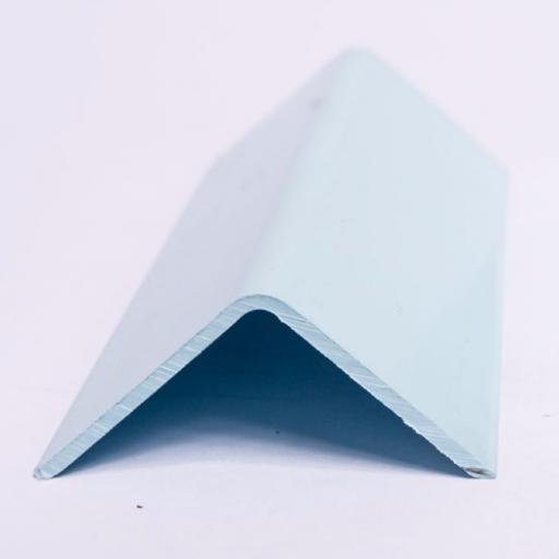 Pastel Blue Wall Cladding Internal Angle
