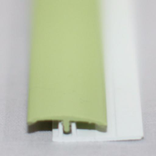 Green Grape Gloss Wall Cladding Transition Strip