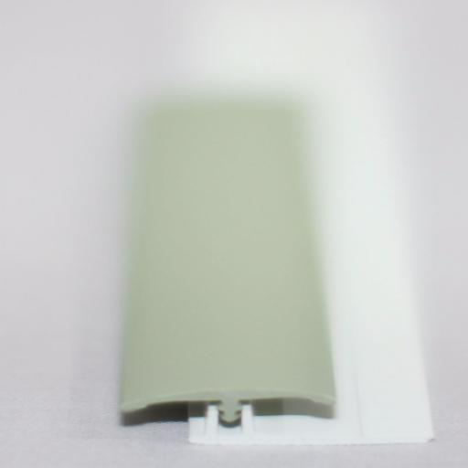 Avocado Green Gloss Wall Cladding Transition Strip