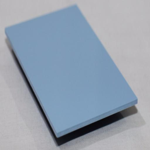 2.5mm Gloss Ocean Blue PVC Sheet 2.44m x 1.22m