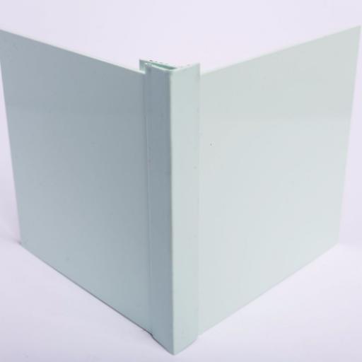 Pastel Green Wall Cladding External Corner Joint
