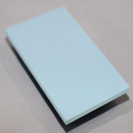 2.5mm Pastel Blue PVC Sheet 2.44m x 1.22m