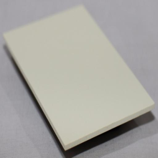 2.5mm Pastel Cream PVC Sheet 2.44m x 1.22m