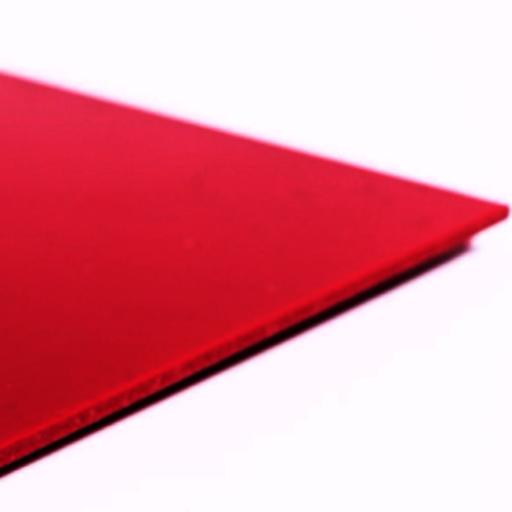 2.5mm Hygienic Wall Cladding Red Gloss 3.05m x 1.2m