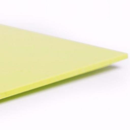 2.5mm Hygienic Wall Cladding Lime Green Gloss 3.05m x 1.2m