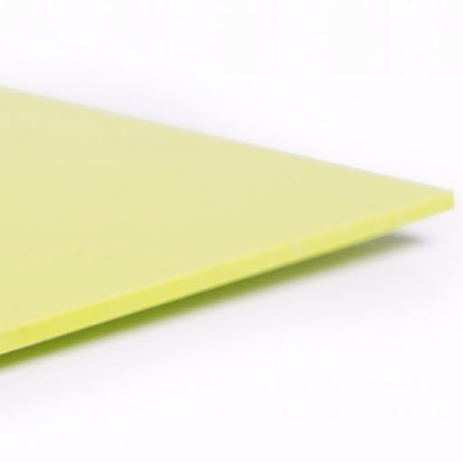 2.5mm Hygienic Wall Cladding Lime Green Gloss 2.4m x 1.2m