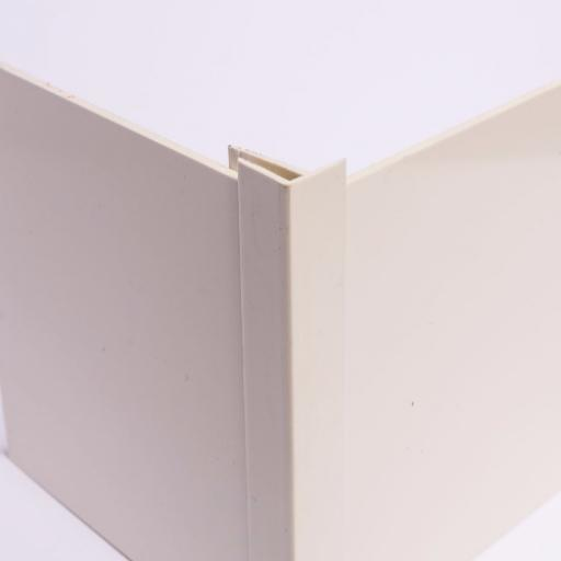 Pastel Cream Wall Cladding External Corner Joint
