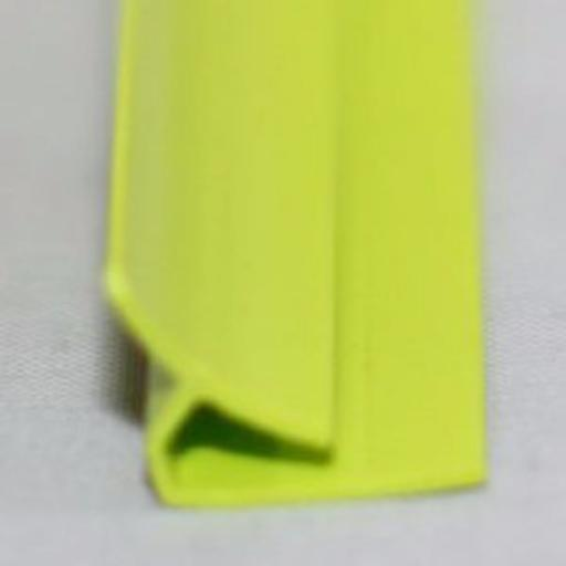 Lime Green Gloss Wall Cladding Internal Corner Joint