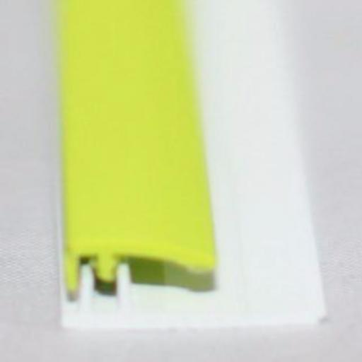 Lime Green Gloss Wall Cladding Starter Profile