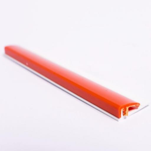 Orange Gloss Wall Cladding Starter Profile