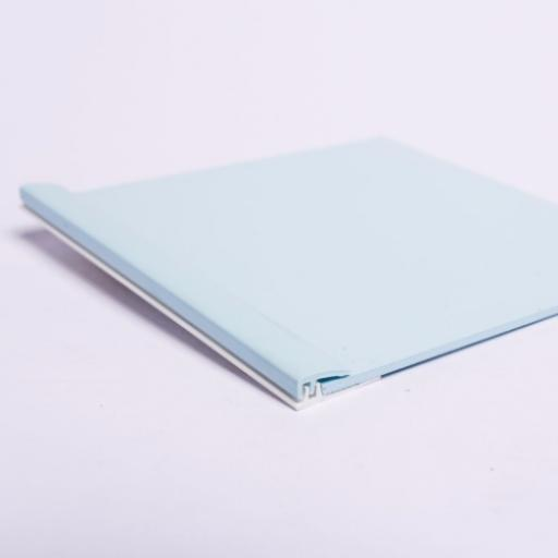 Pastel Blue Wall Cladding Capping Strip