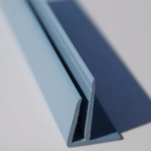 Ocean Blue Gloss Wall Cladding External Corner Joint