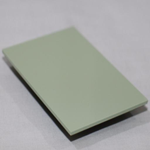 2.5mm Gloss Avocado Green PVC Sheet 2.44m x 1.22m