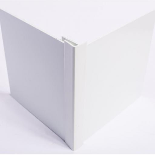 White Hygienic Wall Cladding External Corner Joint