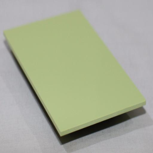 2.5mm Gloss Green Grape PVC Sheet 2.44m x 1.22m