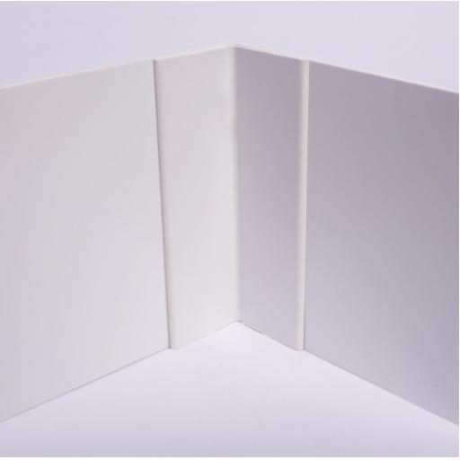 White Hygienic Wall Cladding Internal Angle