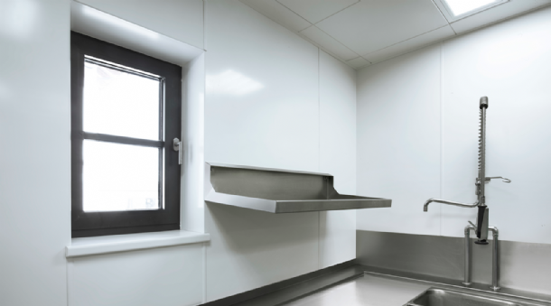 Commercial Kitchen Hygienic Wall Cladding