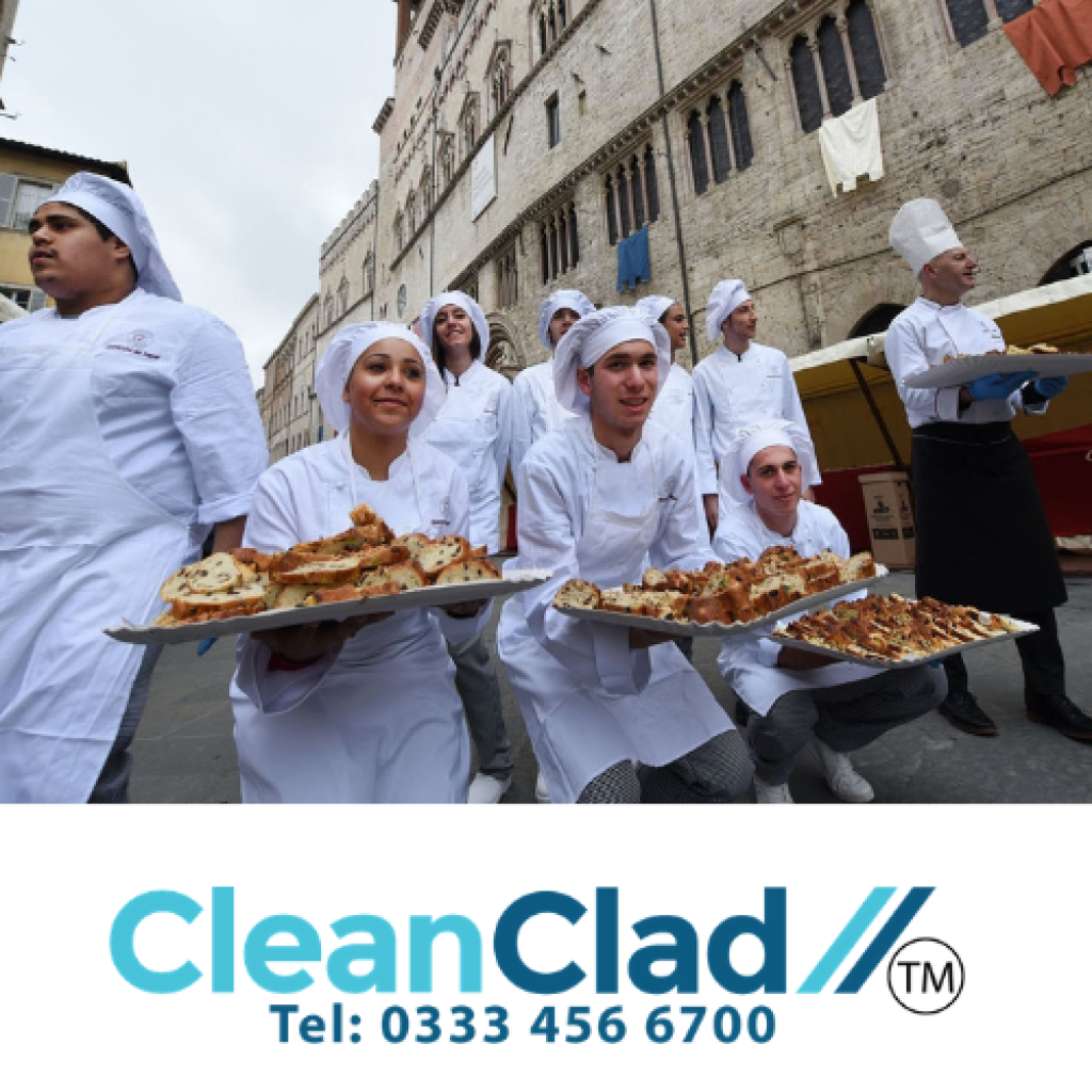 Commercial Kitchen Cladding and the Food Industry